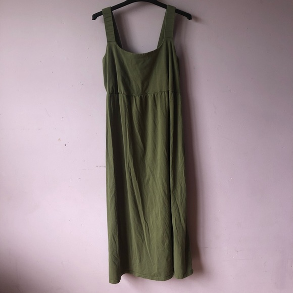 Only Necessities Dresses & Skirts - Olive Green Maxi Dress